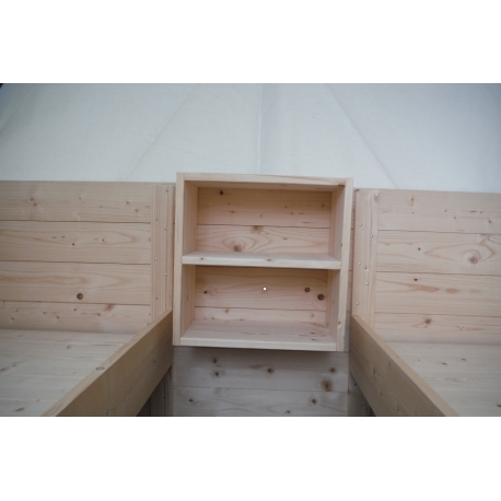 Noční stolek/skříňka závěsná do podsadového stanu