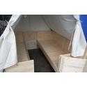 Stanová podsada pro podsadový stan 200 x 200, s volitelným příslušenstvím