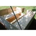 Stanová podsada pro podsadový stan 200 x 200