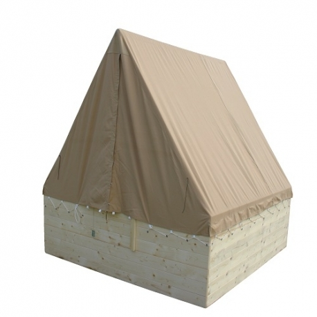 Stan na podsadu OSADA AKCE 197x200cm, výška 140cm, stanovka BA 320g/m2