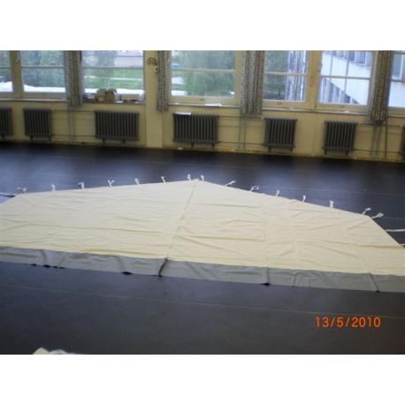 Monsun 4, 5 a 6, dělící stěna pro Velkoprostorový stan/hangár se zipem