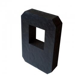 Terčovnice YATE DOUBLE Polimix R 80x60 cm výřezem