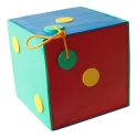 YATE CUBE Polimix 30 cm Color se závěsem var.3