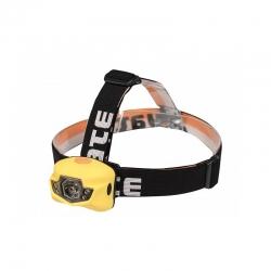 YATE PANTER 3 W CREE+2 LED Čelová lampa žlutá