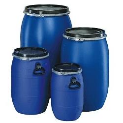 Plastový sud modrý 30l, 60l, 120l