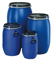 Plastový sud modrý 30l, 60l, 120l 30 L